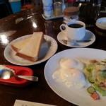 軽食・喫茶 リバー - モーニング