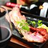 バル ペルージャ - 料理写真:厚切りベーコンステーキ  肉の旨みを堪能できる一品!