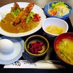 魚たつ - 日替わり定食(カレー)