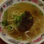台南担仔麺 屋台料理 来来 - 担仔麺:190円