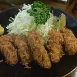 とき和 - カキフライ定食