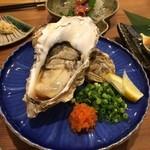 コビトカバ - 牡蠣