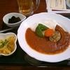 テルメ小川 - 料理写真:本日のカレー(キーマカレー)