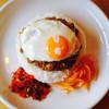 タダカリー - 料理写真:キーマカレー 目玉焼トッピング