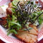 肉玉そば おとど食堂 - ミニチャーシュー丼