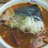 ラーメン華門 - 料理写真:スープカレーラーメン(760円+50円)
