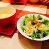 CARA - 料理写真:サラダセットのサラダとコーンポタージュ