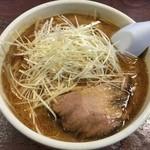 一期一会 - 味噌ラーメン(ネギトッピング)