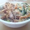 広東料理 青山一品 - 料理写真:丼 380円    ユーリンチーと豚&もやし炒め(的な)