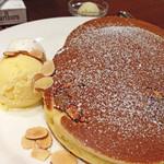 珈琲館 - 和栗のホットケーキ