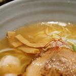 銀笹 - スープはあっさりだがキレがある