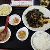 媽媽美食 - 料理写真:豚肉ときくらげ炒め定食