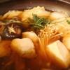 壱献 - 料理写真:ネギマ鍋(ネギとマグロらしい・・・)