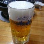 ふくろう亭 - 生ビール