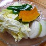 ふくろう亭 - 野菜盛り合わせ 2人前