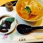 32864812 - 吉野うどん、胡麻豆腐