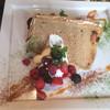 Salone del Cafe Hattori - 料理写真:カプチーノシフォンケーキ