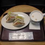 クーズコンセルボ - 料理写真:モーニングBセット