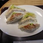 クーズコンセルボ - 料理写真:サンドイッチ