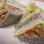 クーズコンセルボ - 料理写真:サンドイッチ(アップ)