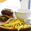 3S cafe - 料理写真:ボリューミーな3Sバーガー