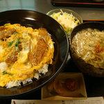 三十石 - 2010年2月訪問 カツ丼定食 885円