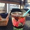 ベアフットコーヒー - ドリンク写真:ランチセットのアイスコーヒー