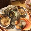 荒磯料理 海女小屋 - 料理写真:焼き貝盛合せ 1050円