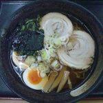 国見サービスエリア(上り線)スナックコーナー - 喜多方ラーメン¥780-