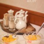 翠鳳 - 飲茶コースのデザートの杏仁豆腐