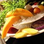 Q - バーニャカウダ(野菜)
