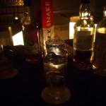 BAR 松田 - 飲んだお酒は並べてくれます。
