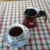 ダヤンカフェ - 料理写真:珈琲チョイ薄い。