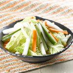 シダックス - 【あっさりおつまみ】やみつき野菜の梅昆布和え 480円