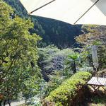 ル・クード・ヴァン - テラス席からの眺め