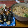 味万 - 料理写真:1-1)天むす定食(870円)