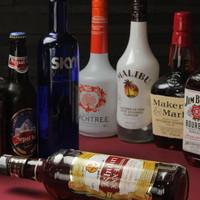 破格なお酒は種類豊富です!