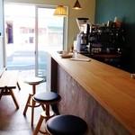 オーバル コーヒースタンド - 店内
