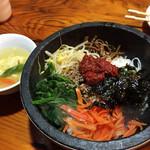 オムニ食堂 - ランチの石焼ビビンパ  900円