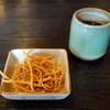 松月 - 料理写真:お通し的な揚げ蕎麦