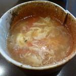 せろりや - 玉子とトマトのスープ