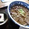 そば処 ほおずき - 料理写真:赤牛肉そば。