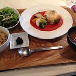 あじと cafe日びの - 料理写真:ベジバーグランチ1300円くらい