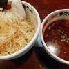 麺や 多久味 - 料理写真:焦がしにんにくつけ麺(トッピング:ネギ)