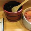 若松家 - 料理写真:醤油はハケで塗る