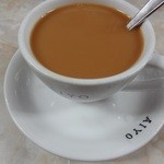 愛養 - ミルクをいれたコーヒー