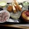 かつ徳 - 料理写真:寒ぶりかつと海老・ヒレかつ定食