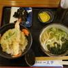 黒田屋 - 料理写真:ミニ天丼セット