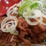 肉肉ラーメン - 肉肉ラーメン 中盛りアップ 2014.11