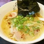 藤しろ - 芳醇鶏白湯ラーメン750円